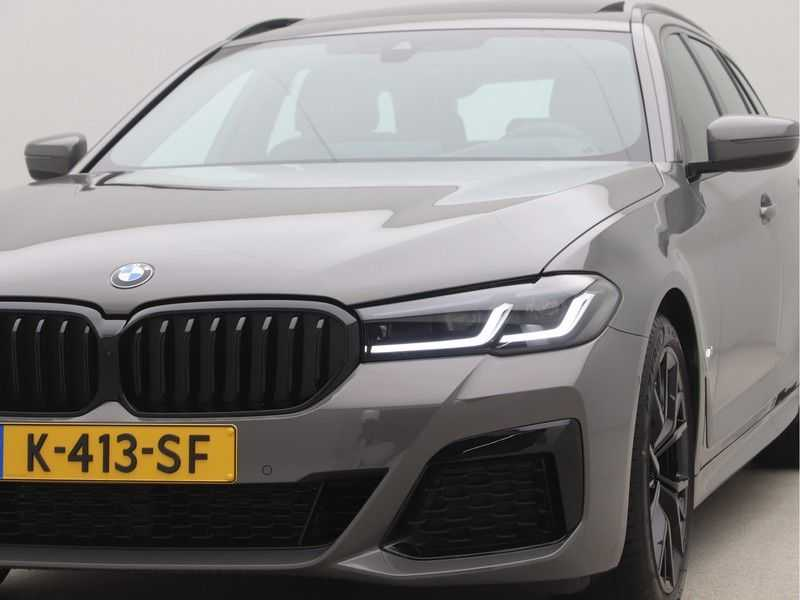 BMW 5 Serie Touring 520i High Executive M-Sport Automaat afbeelding 23