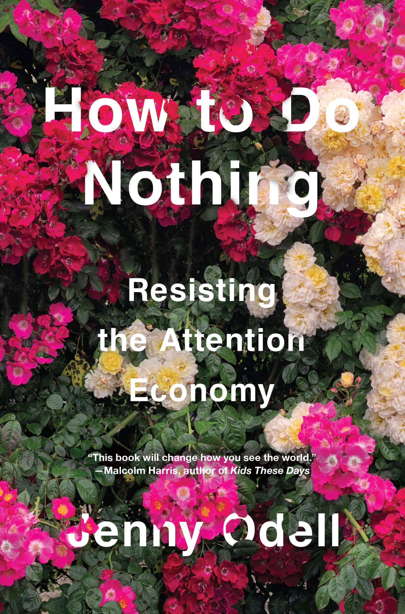 The cover of How to Do Nothing