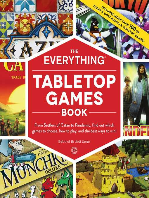 The Everything Tabletop Games Book cover