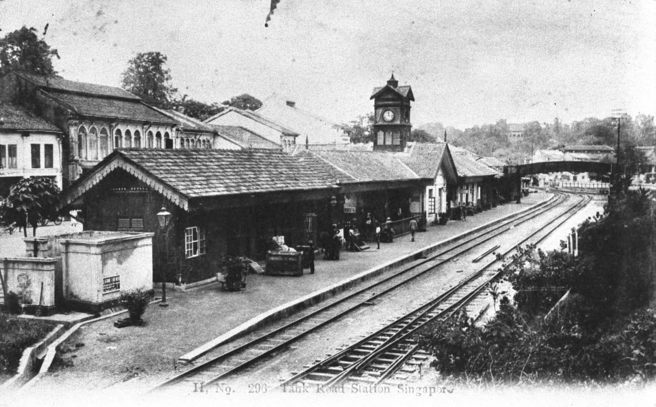 Tank Road station, 1920s