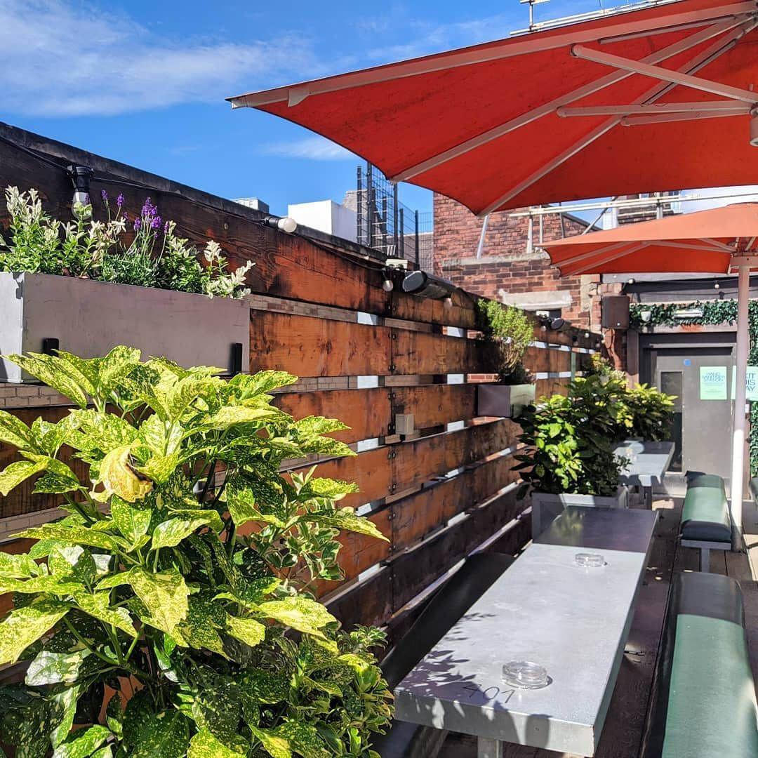 Headrow House rooftop terrace