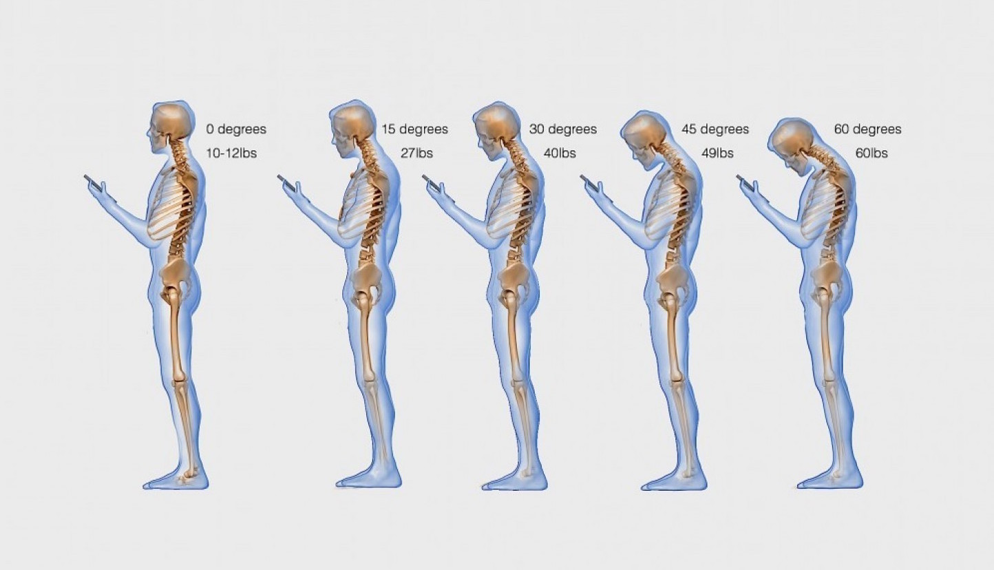 The effects of texting on the human body