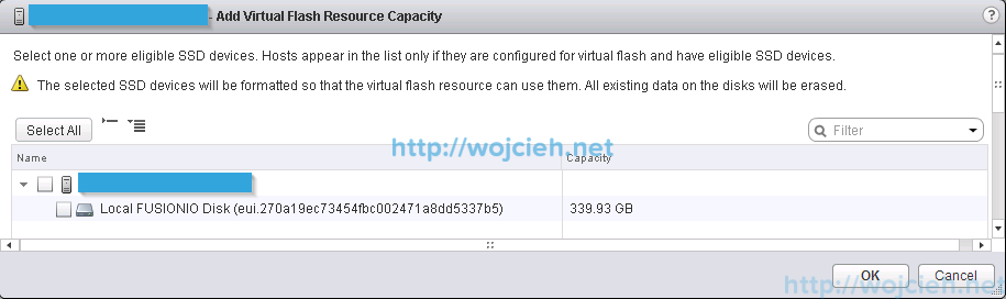 VMware vFlash Read Cache configuration and performance test 2