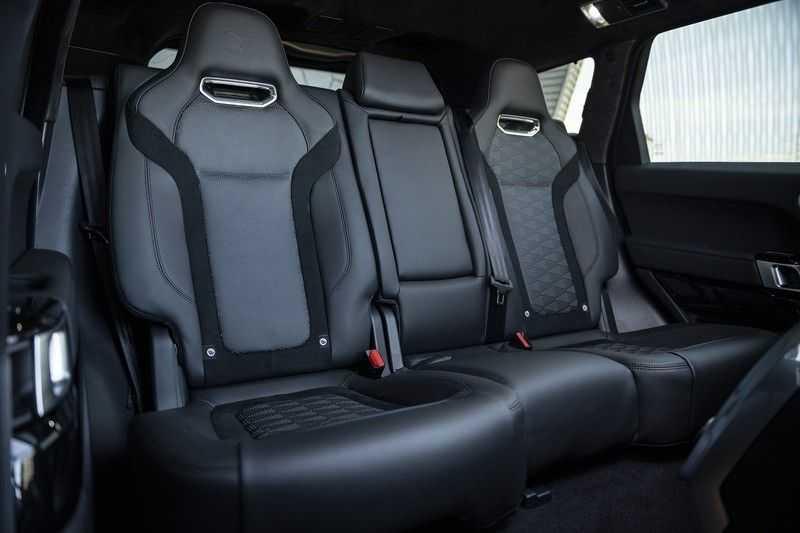 Land Rover Range Rover Sport SVR 5.0 V8 SC Meridian Reference Audio + Head Up + 360 Camera + Gekoelde/Verwarmde voorstoelen + Verwarmde  Achterbank + Carbon Motorkap Met Luchthappers + Ambianceverlichting afbeelding 17