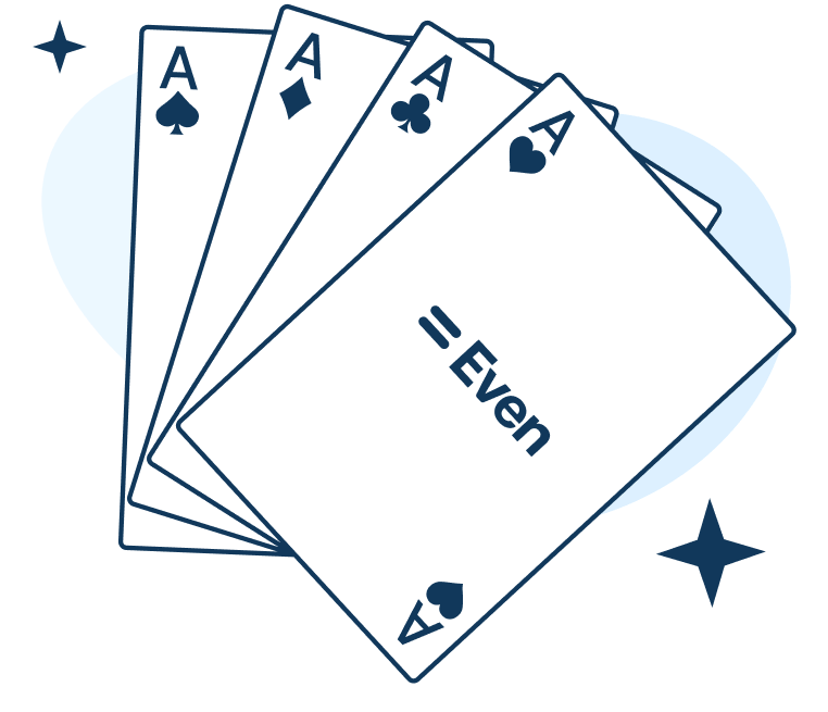 Even playing cards 2