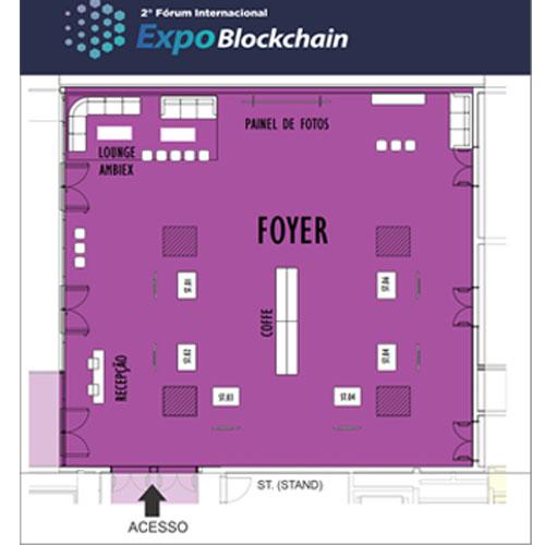 Cenografia Expo Blockchain - 2ª Edição