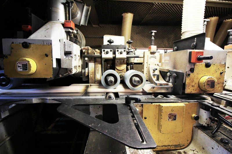 piallatrice industriale in funzione