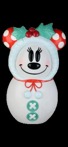 Minnie Mouse Snowman photo