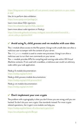 The Node.js Security Handbook page 2