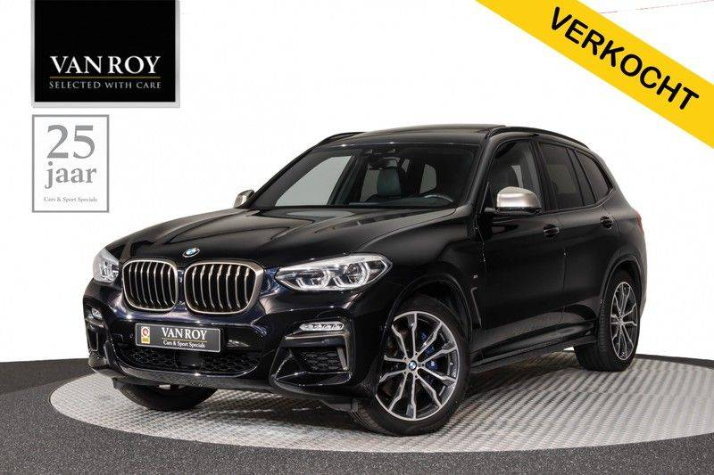 "BMW X3 M40i xDrive 340pk Panoramadak VirtualCockpit ShadowLine Sportleder+Memory Head-Up ACC Harman/Kardon AmbientLight Keyless 20"" 360Camera ParkAssist Pdc afbeelding 1"