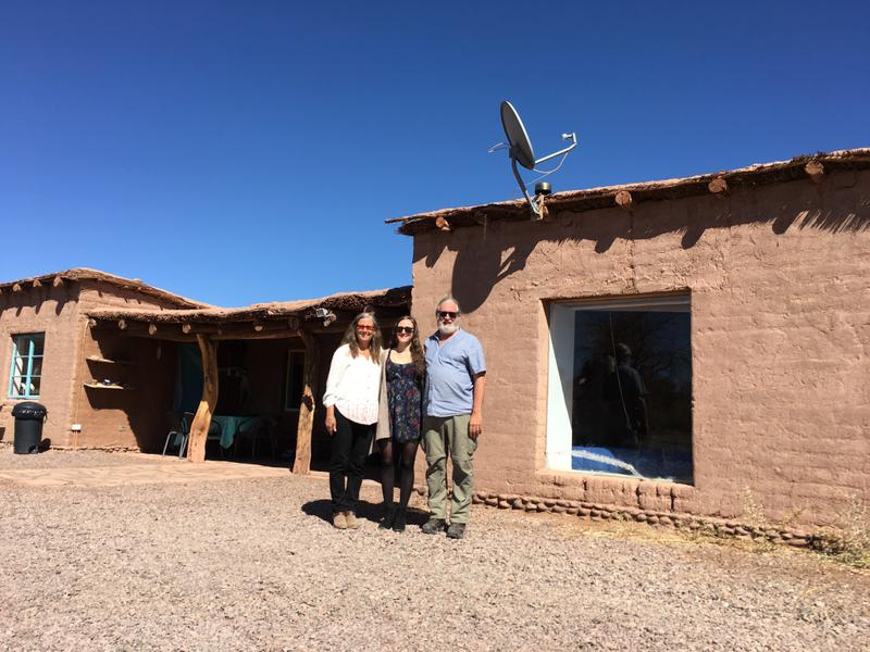 Our adobe Airbnb in the village just outside of San Pedro de Atacama
