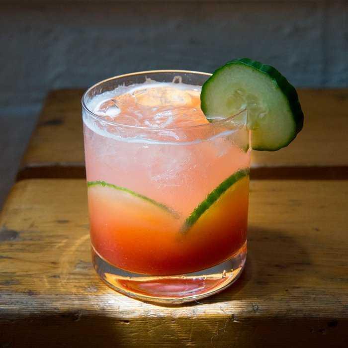 Rum Screwdriver Cocktail