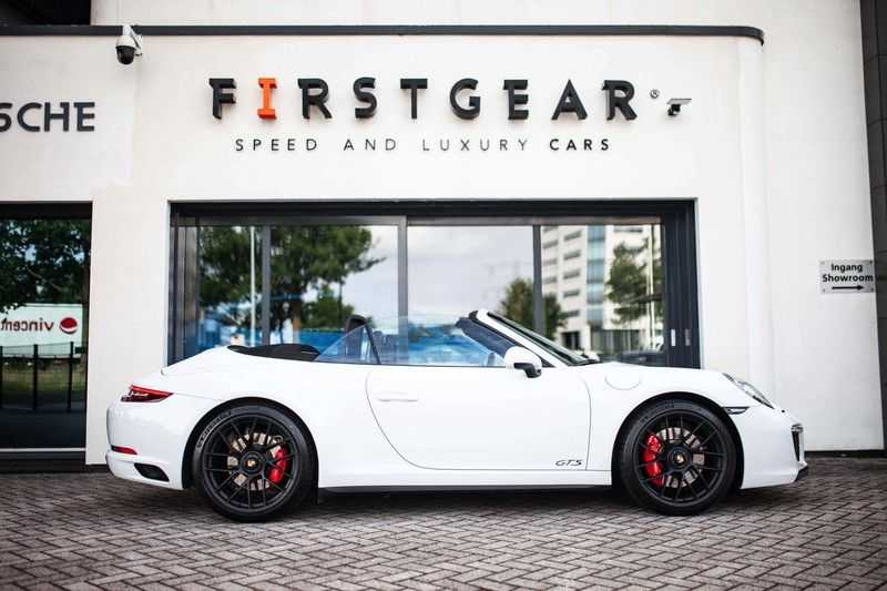 Porsche 911 Cabrio 991.2 3.0 Carrera 4 GTS *BOSE / Liftsysteem / Sport Chrono / DAB / PASM* afbeelding 5