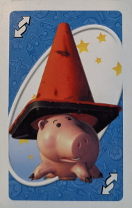 Toy Story (2008) Blue Uno Reverse Card