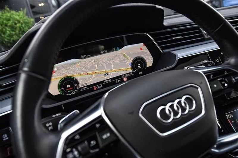 Audi e-tron 55 QUATTRO PANO.DAK+360CAM+HEADUP+B&O afbeelding 3