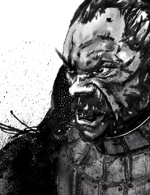 Warrior Face Sketch