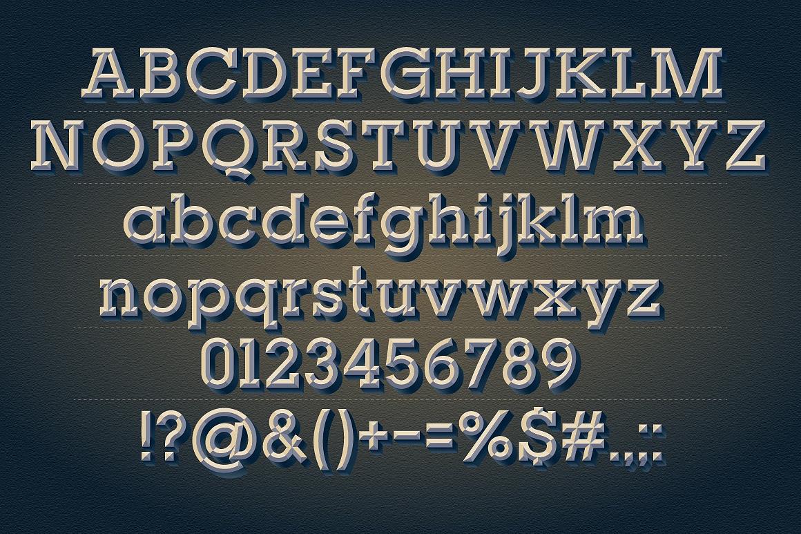 Old Beveled Slab Typefaces images/promo-2.jpg