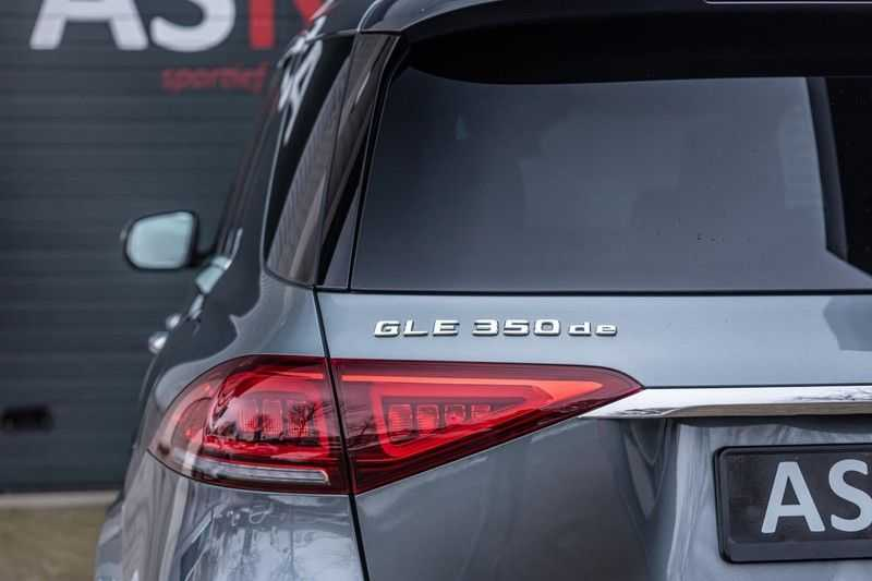 Mercedes-Benz GLE 350 de 4MATIC Premium Plus, 320 PK, AMG/In/Exterieur, Pano/Dak, Massage, Standkachel, Head/Up, BTW, 2020! afbeelding 24