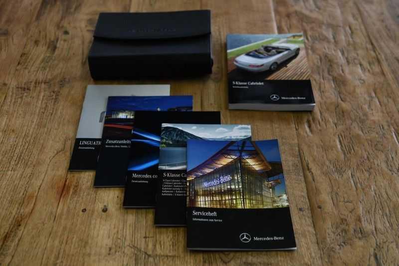 Mercedes-Benz S-Klasse Cabrio 500 , 456 PK, AMG/In/Exterieur, Swarovski, Head/Up, Airscarf, 29DKM, NIEUW!! afbeelding 13