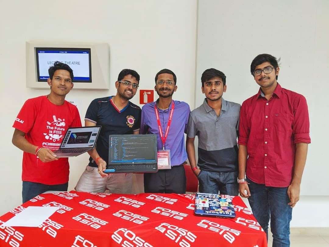 team-consisting-of-yash-khare-bag-second-in-position-unesco-fossasia-hackathon-ibm-cloud-2019-singapore's image