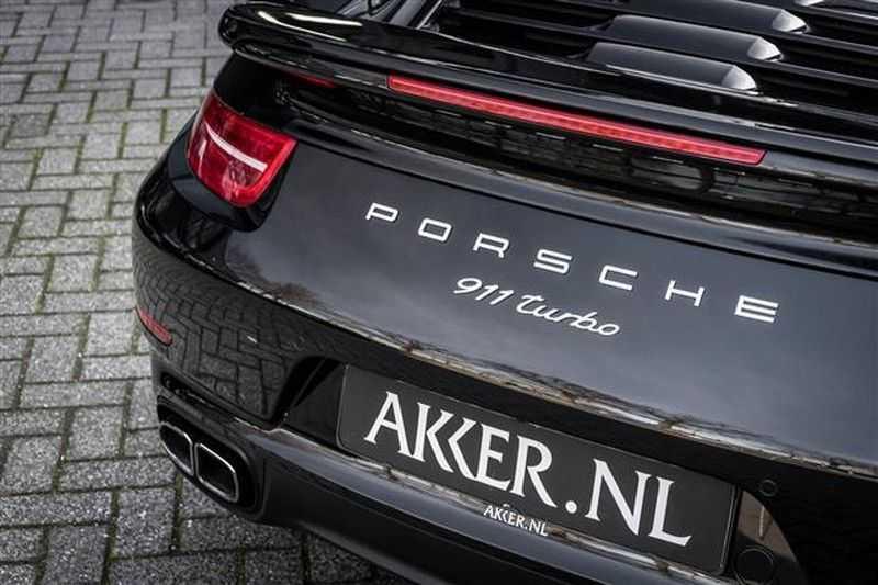 Porsche 911 TURBO GLAS DAK+ADAPT.STOELEN+CAMERA afbeelding 24