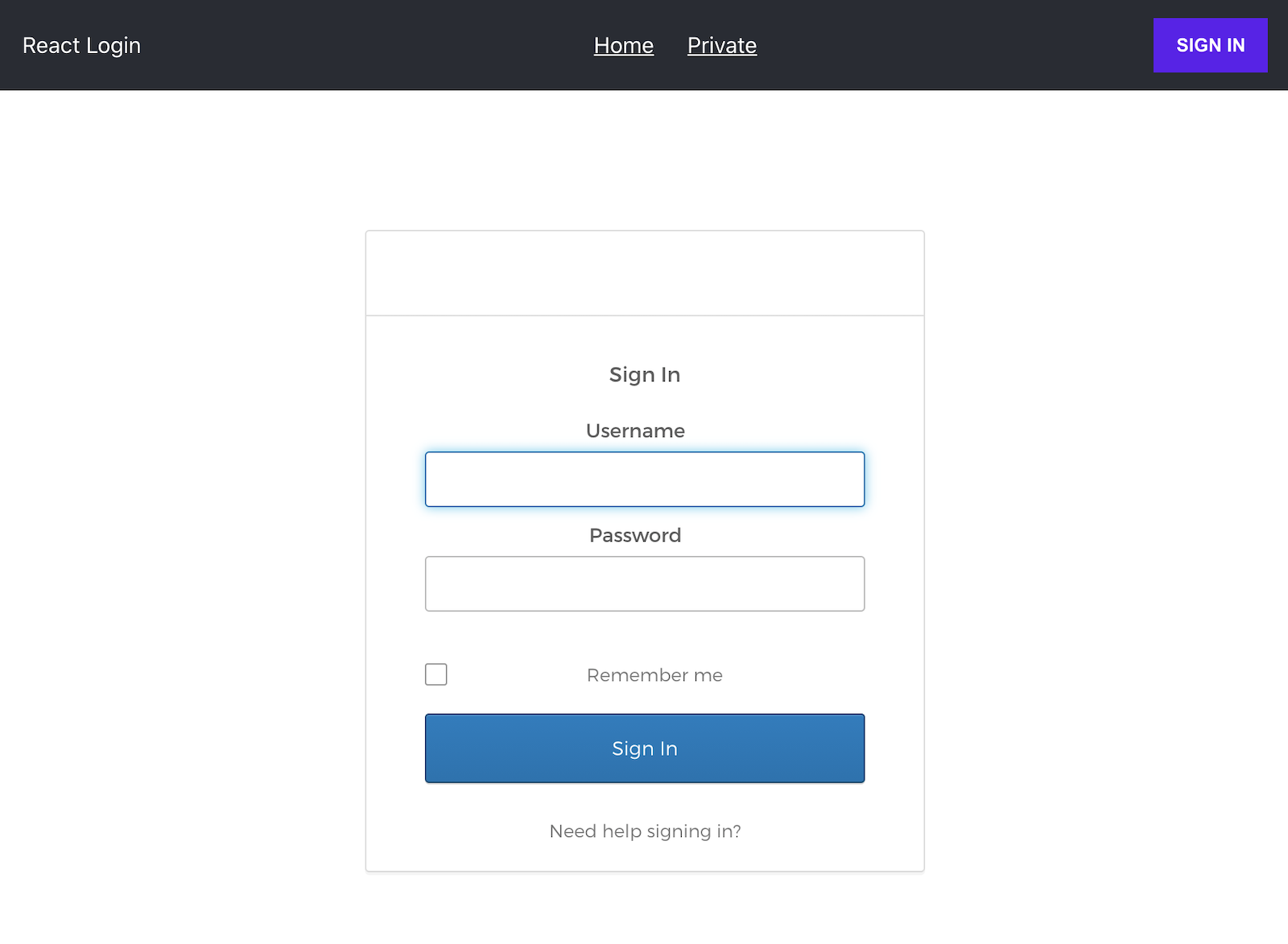 The Okta Sign-In Widget