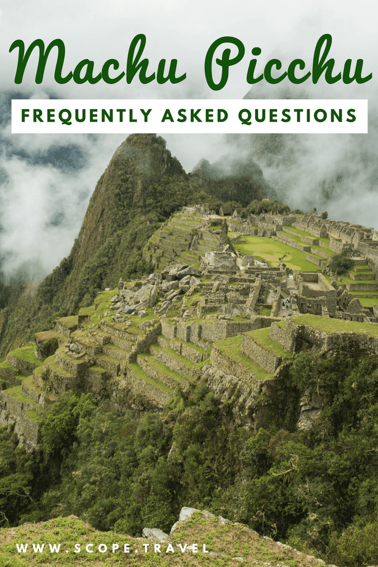 Pinterest machu picchu frequently asked questions