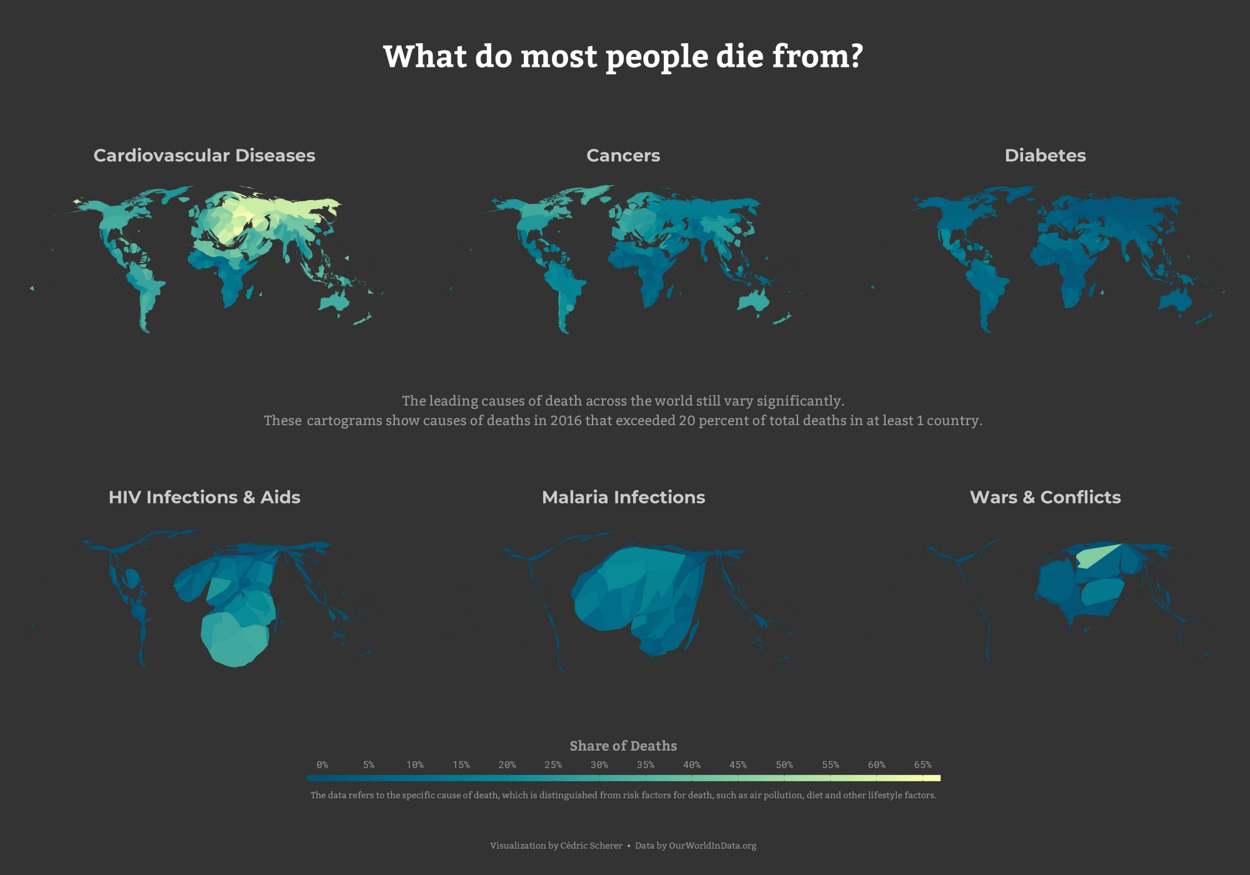 Leading Causes of Death Across the World
