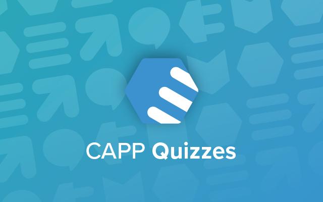 CAPP Quizzes Productsheet