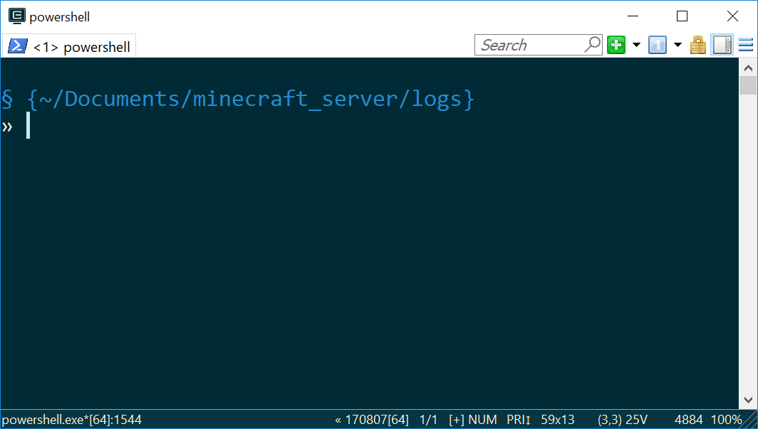 PowerShell prompt with style