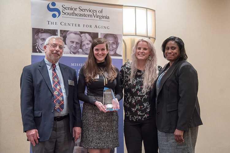 Senior Services of Southeastern Virginia Honors Atlantic Bay for Volunteerism