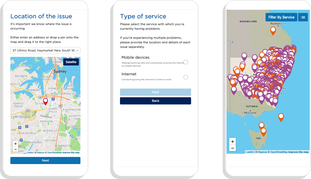 Digital Connectivity - Interactive Map - Interactive Mapping