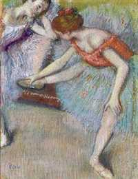 Degas' Danseuses was sold by Christie's New York for over $10.7 million in November 2009