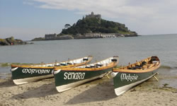gig rowing penzance swimming scuba water sports