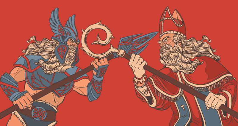 Odin and Sinterklaas... Same person?