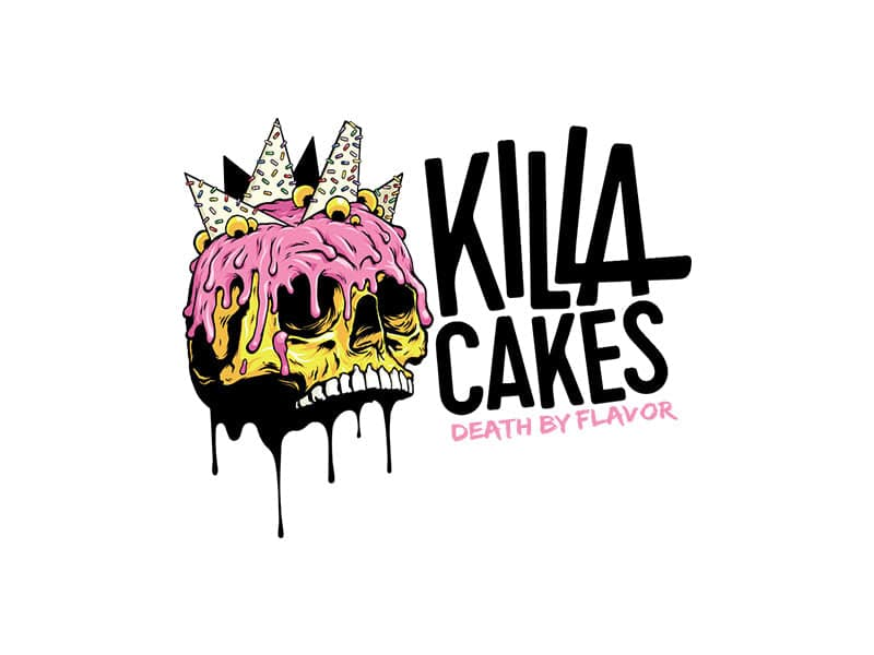 logo for killa cakes
