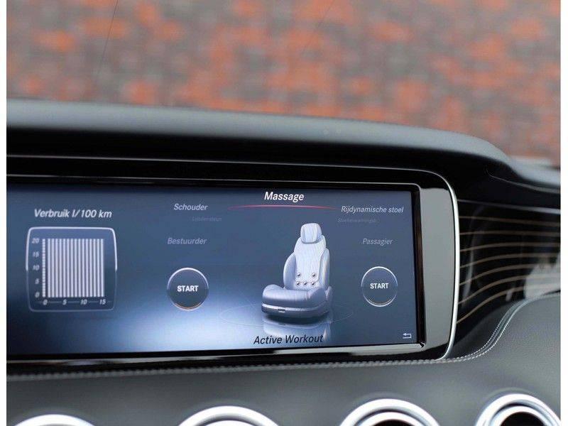 Mercedes-Benz S-Klasse Cabrio 500 *Designo*AMG*Airscarf*Full option* afbeelding 18