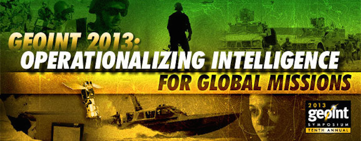 Observations from GEOINT 2013*