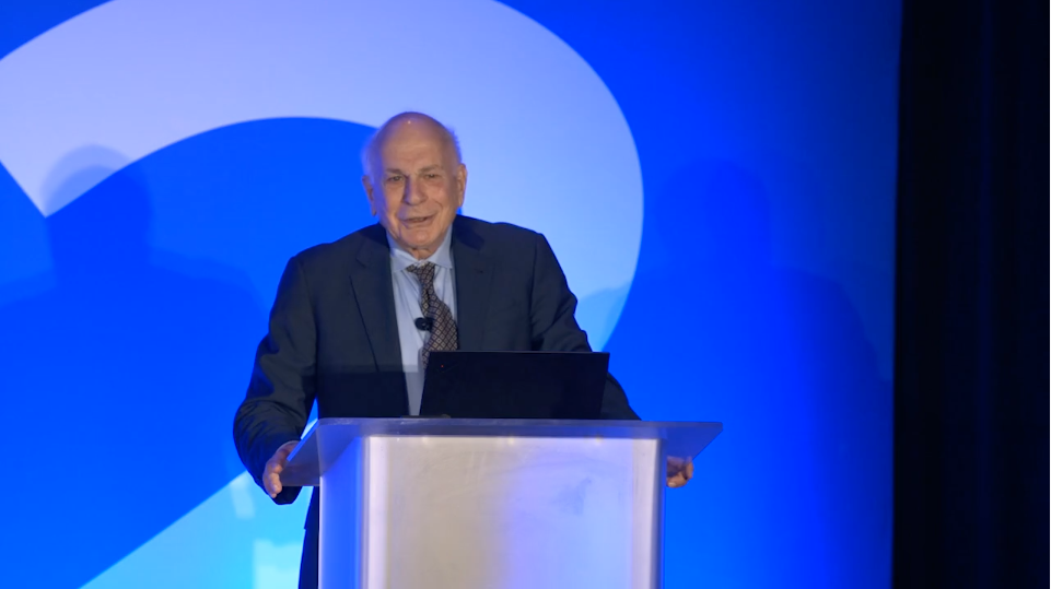 Keynote Address by Daniel Kahneman: The Psychology of Intuitive Judgment & Choices