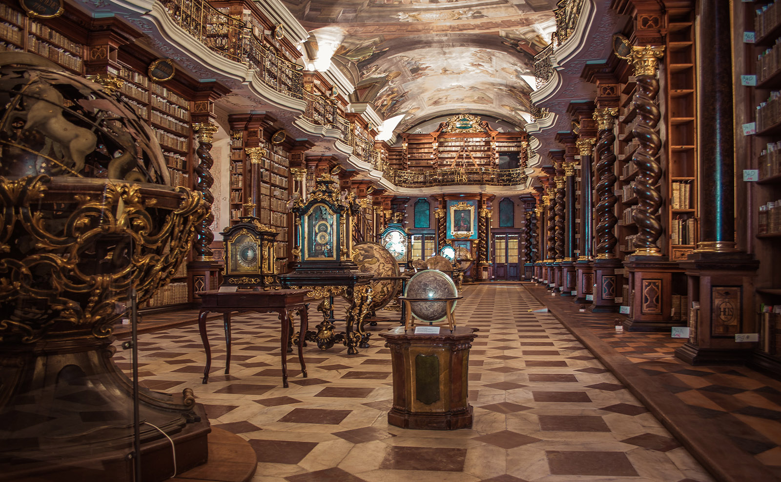 Secret Rooms and Gilded Gewgaws: A Brief Tour of 8 Majestic Libraries
