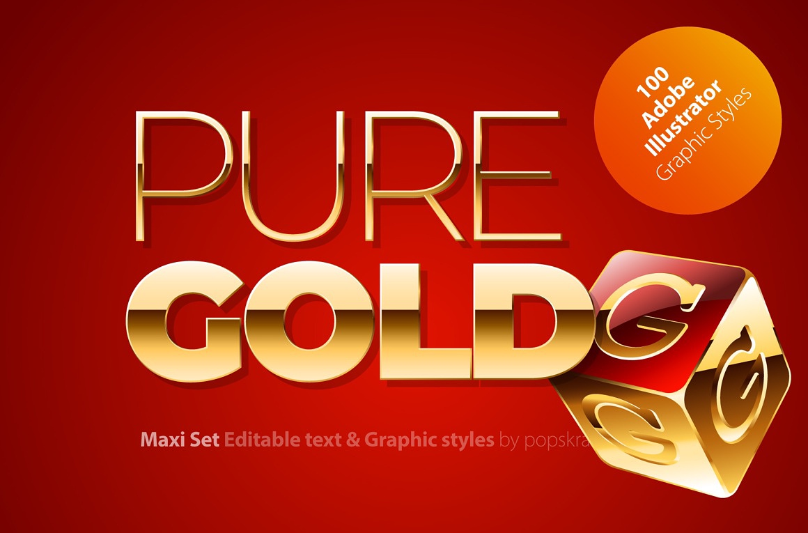 Pure Gold Adobe Illustrator styles images/puregold_1_cover.jpg