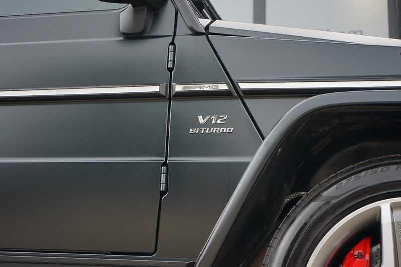 Mercedes-Benz G-Klasse 65 AMG DESIGNO MAGNO NIGHT BLACK afbeelding 6