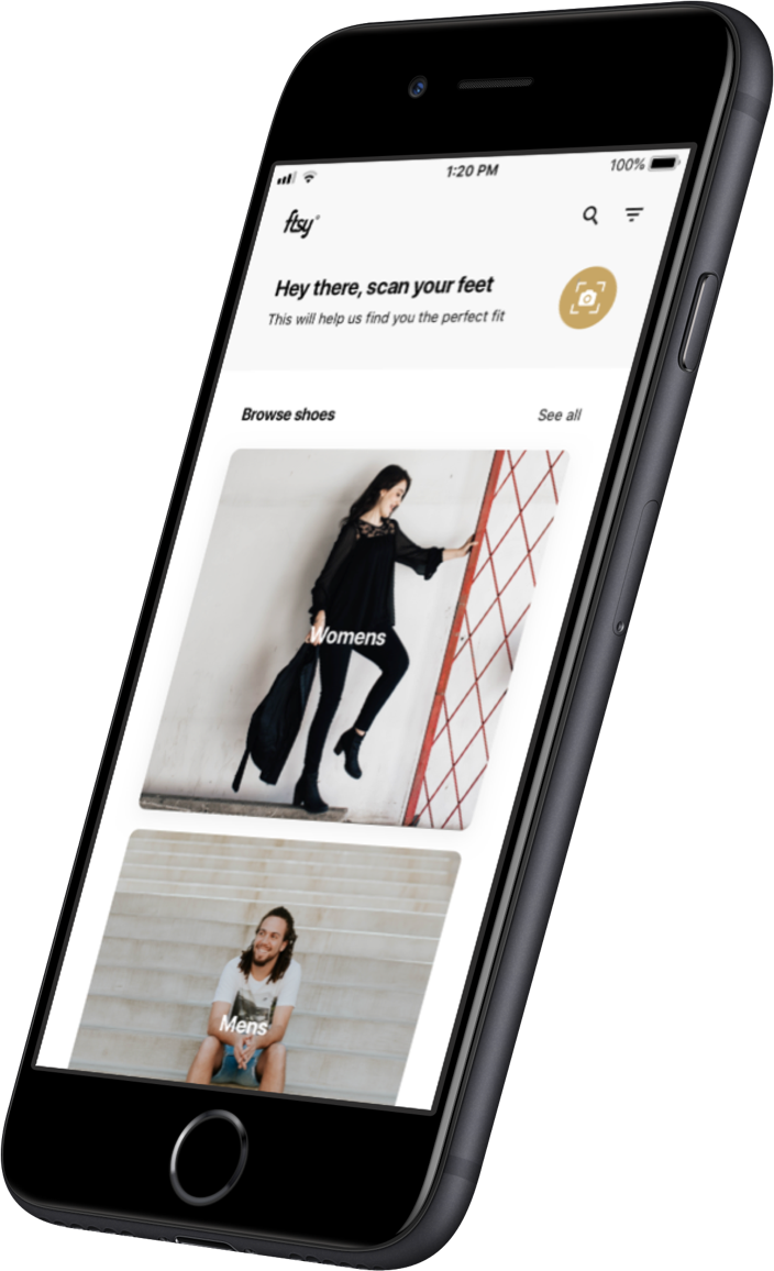 FTSY mobile app details screen