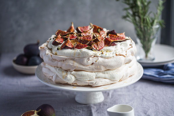 Honey And Fig Pavlova