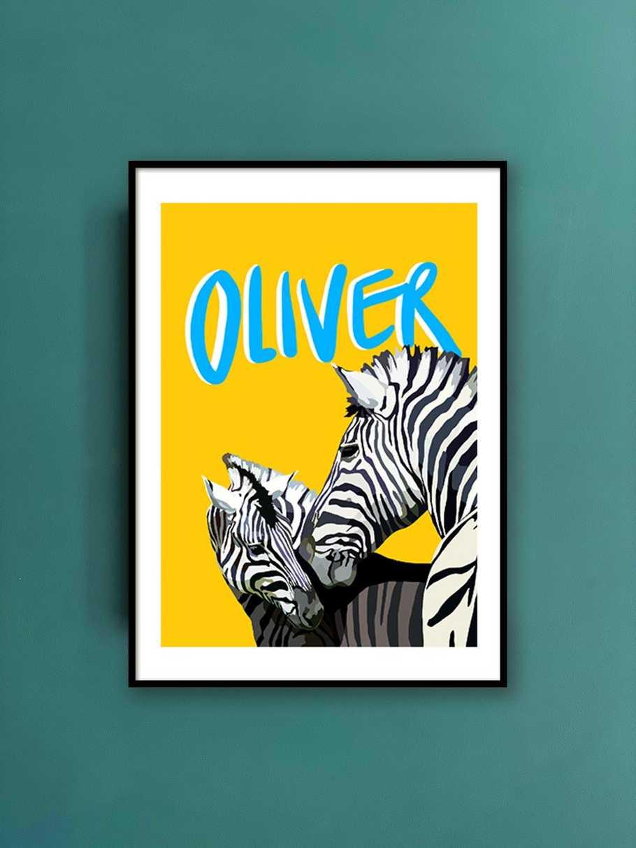 personalised-print-zebra