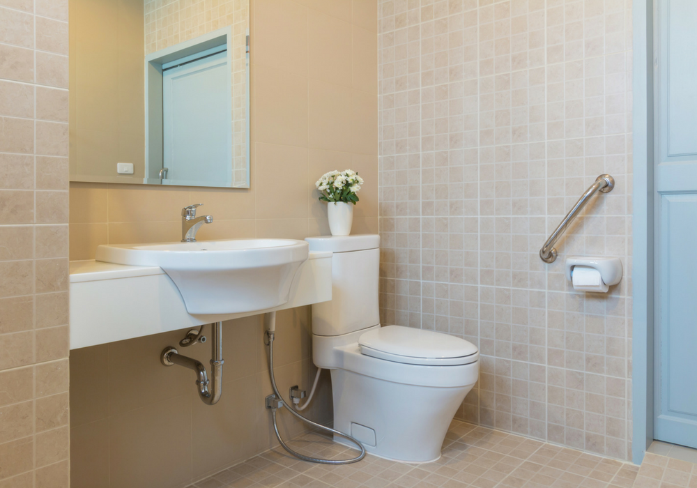 image of accessible-friendly bathroom