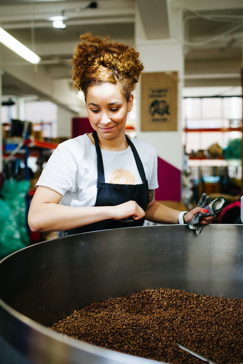 Aissa, our former coffee roaster