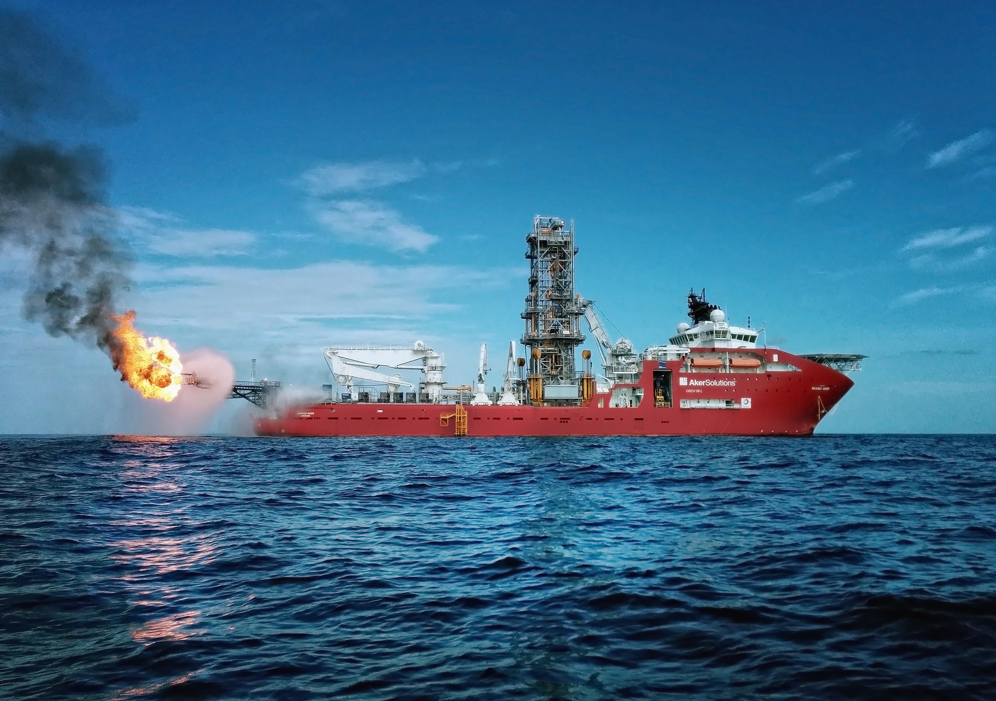 Et bilde av M/S Akofs Seafarer