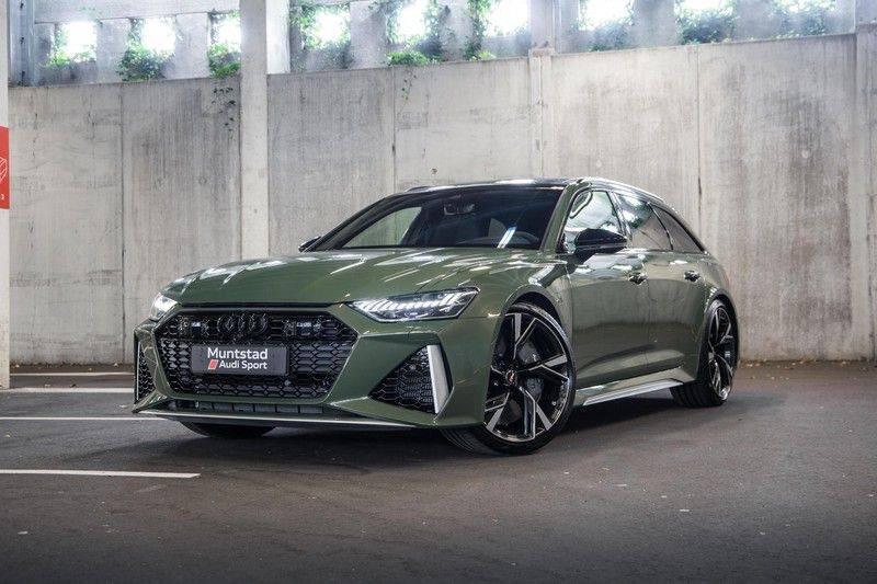 Audi RS6 Avant TFSI 600 pk quattro | 25 jaar RS Package | Dynamic Plus pakket | Keramische Remschijven | Audi Exclusive Lak | Carbon | Pano.dak | Assistentiepakket Tour & City | 360 Camera | 280 km/h afbeelding 2
