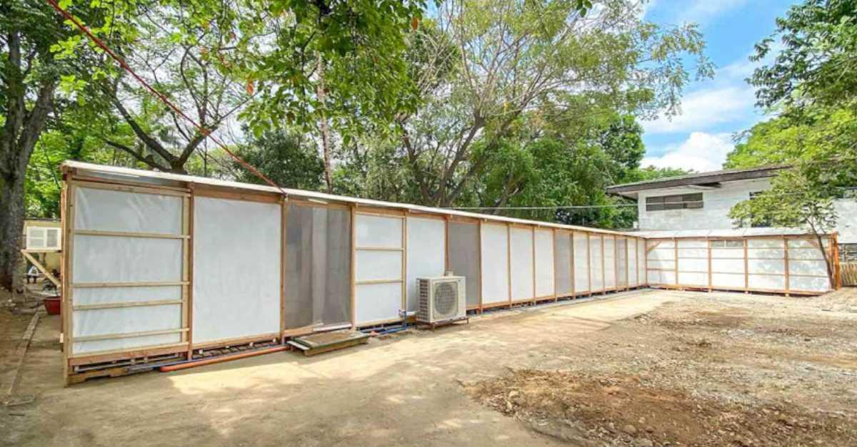 Temporary Quarantine Facility Exterior 1